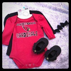 Other - AZ Cardinals Baby Girl Bundle